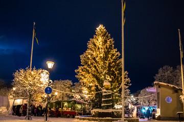 Weihnachtsmarkt in Filipstad / Schweden