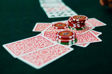 カジノのポーカーイメージ(テキサスホールデム)
