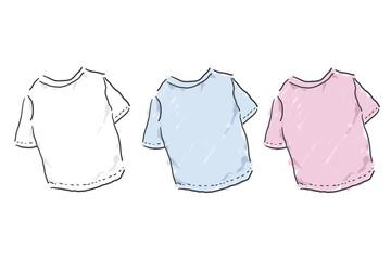 Tシャツ ゆるいイラスト