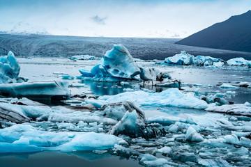 Glacier on Iceland