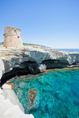 Torre die Miggiano, Apulia - Relaxing in the sunshine near Torre di Miggiano