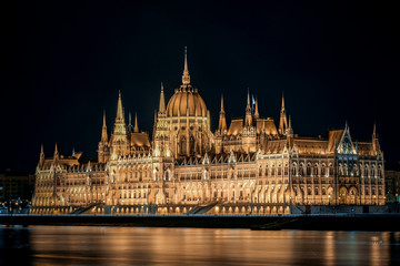 Foto op Canvas Boedapest hungarian parliament in budapest