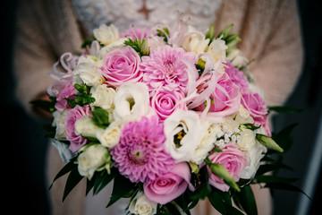 Fototapeta bukiet z kwiatów  obraz