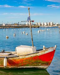 Old Fishing Boat, Punta del Este Port, Uruguay