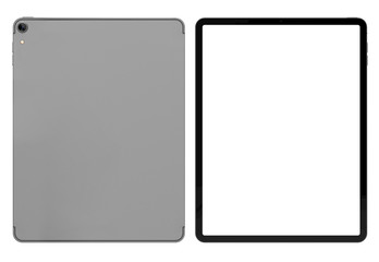 Tablet blank screen isloated