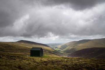This shelter was more then welcome with rain pouring down in the Cumbrian Mountains England