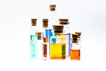 Science Beaker Experiment