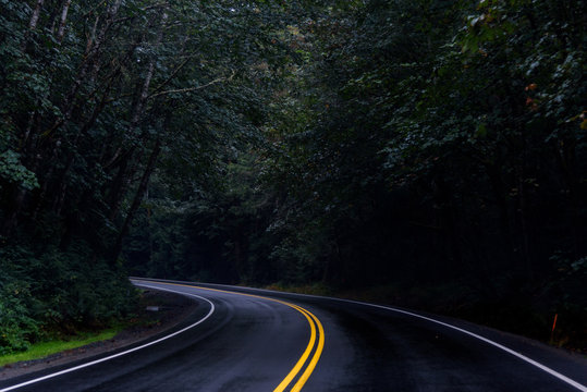 Dark and Twisting Roads