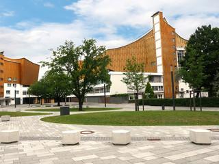 The Cultural Quarter near the Potsdammerplatz in Berlin Germany