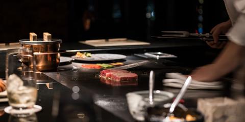 鉄板焼き・ステーキ