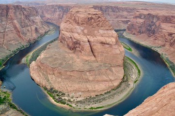 Horseshoe Canyon - very natural picture