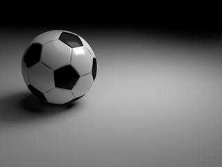 soccer ball , 3d rendering