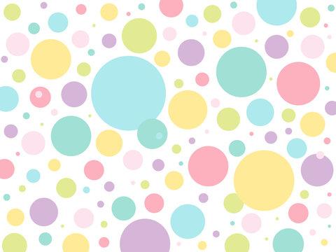 Polkadots colorpastel