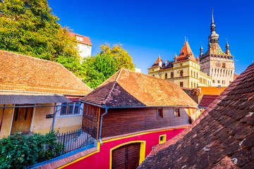 Photo sur Aluminium Europe de l Est Sighisoara - Transylvania, Romania