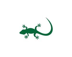 Lizard logo illustration