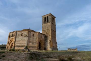 Iglesia templaria de la Vera Cruz en la ciudad de Segovia, España