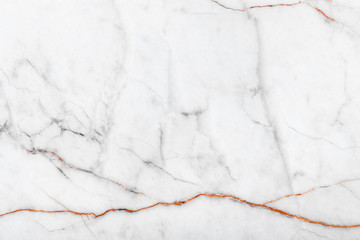 white background from marble stone texture for design Wall mural