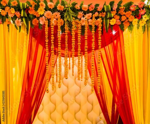 Indian Wedding Mandap Stock Photo And Royalty Free Images On