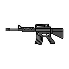 Cartoon Assault Rifle