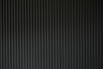 ストライプの溝のある壁