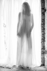 Woman body silhouette