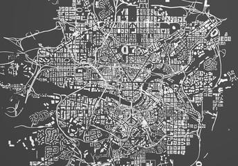 city buildings, illustration 3d