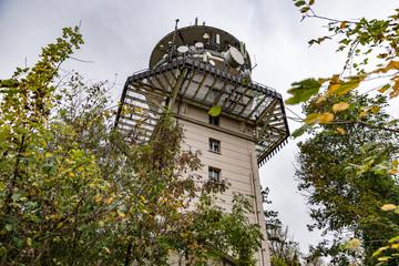 Tour d'une antenne Relais Mont Saint-Quentin