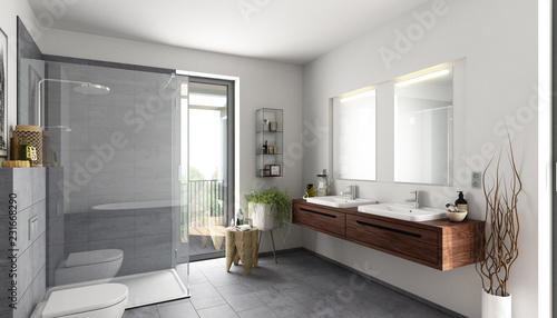 Bad Naturstein Grau Stock Photo And Royalty Free Images On Fotolia