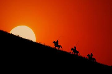 These horsemen