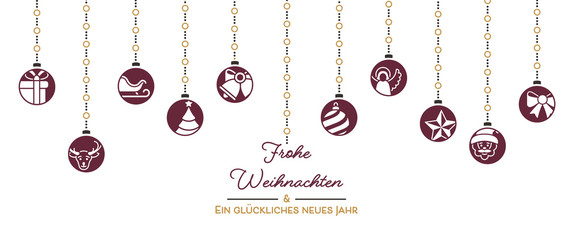 Weihnachten - Postkarte
