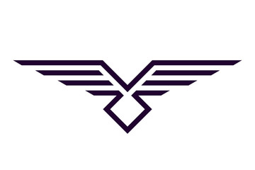 minimum eagle logo, printing on t-shirt