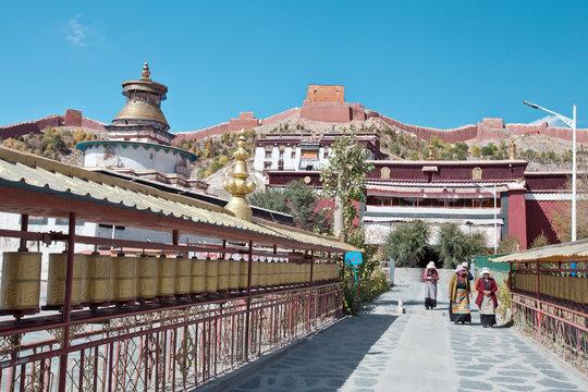 Drepung monastery in Tibet