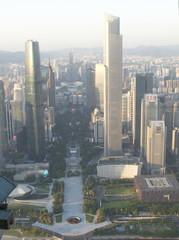 Skyscrapers in Guangzhou, China