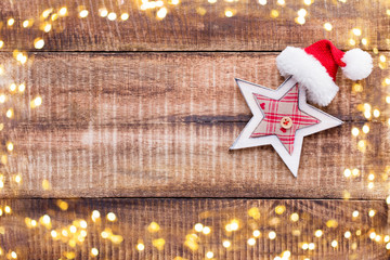 Christmas wooden backgrounds.