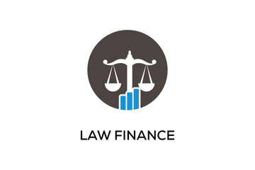 LAW FINANCE LOGO DESIGN