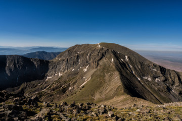 Fototapete - Mt. Herard of the Sangre de Cristo Mountains.  Southern Colorado Rocky Mountains