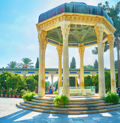 Pavilion of Hafez Tomb, Shiraz, Iran