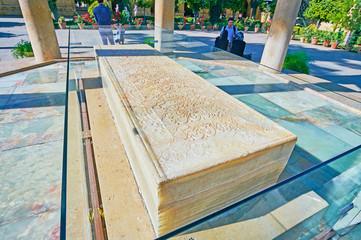 The marble tomb of Hafez, Shiraz, Iran