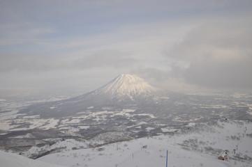 view of mount yotei