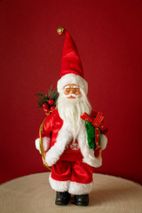 Santa Claus figure front view