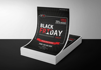 Black Friday Sale Flyer Layout