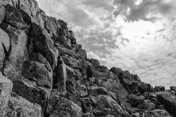 Wall Mural - Climbing in the Colorado Rocky Mountains