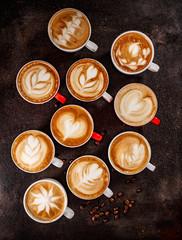 Coffee latte art set