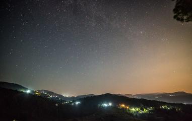 Milkyway / Galaxy in Bageshwar, Uttrakhand, India
