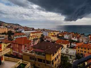 italian city ready for the storm