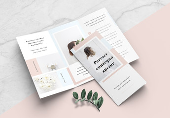 Minimalist Brochure Layout
