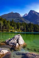 Hintersee, Deutschland, See, Alpen, Gebirge, Natur, Landschaft