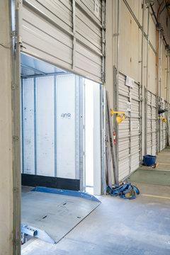 Loading dock doorway