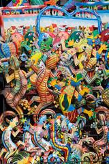 Verkaufsstand auf Curacao mit Standard-Souvenirs (Karibik/Niederländische Antillen)