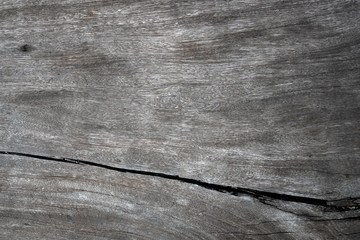 Close up of dark brown wood texture with natural striped pattern background